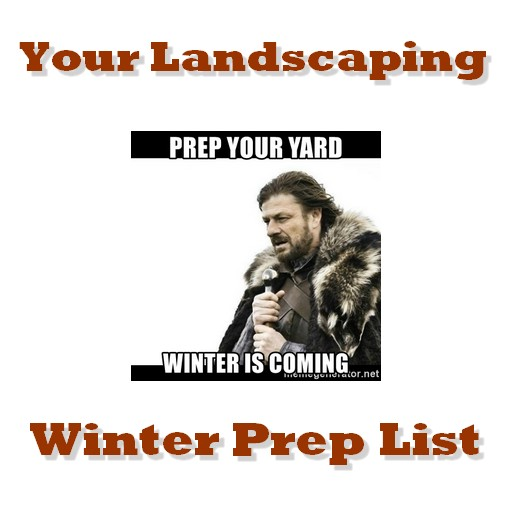 winter preparation for landscapes
